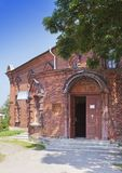 Church of a Feast of the Cross. Sacred-assumotion nunnery. Old Ladoga. Russia Royalty Free Stock Photography