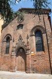 Church of Ferrara. Emilia-Romagna. Italy. Stock Photo