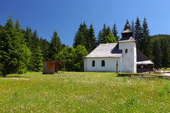 A Church in field. Stock Photography
