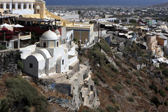 Church in fira Royalty Free Stock Image