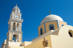 Church in Fira Stock Photo