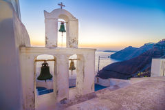 A church in Fira Royalty Free Stock Image