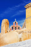 Church in Fira, Santorini Royalty Free Stock Photo