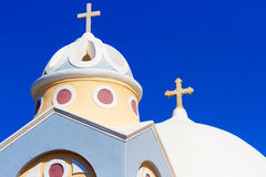 Church in Firostefani, Santorini Royalty Free Stock Photography