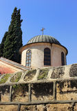 Church of the first miracle. The church of the first miracle, Kefar Cana, Israel stock images