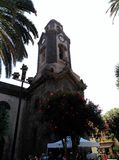 Church. The First Parish of Our Lady of the Rock of France is a Catholic church situated in the Spanish town of Puerto de la Cruz (Tenerife, Canary Islands). In Stock Photo