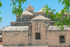 Church with five domes of Agia Paraskevi in Paphos. Cyprus Royalty Free Stock Photos