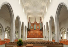 Church with five naves Royalty Free Stock Image
