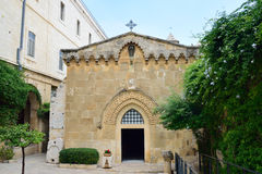 Church of the Flagellation, Jerusalem Stock Photography