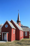 Church  of Flakstad Royalty Free Stock Photo
