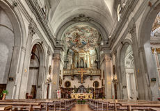Church in Florence Royalty Free Stock Photography