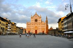Church in Florence , Italy Stock Photo