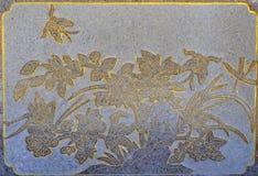 Church flower wall Royalty Free Stock Photos