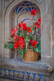 Church flowers Royalty Free Stock Image