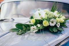 Church flowers wedding bride. Ceremony Royalty Free Stock Images