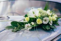 Church flowers wedding bride. Ceremony Stock Images
