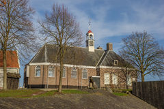 Church on the former island of Schokland Stock Photography