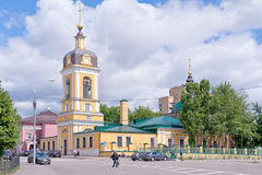Church of forty martyrs. Moscow Stock Photography