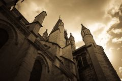 Church in france Stock Image