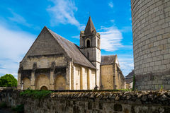 Church in France Royalty Free Stock Photo