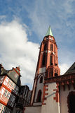 Church in Frankfurt Stock Photography