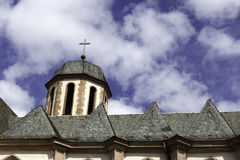 Church of Frankfurt. Called Liebfrauenkirche Royalty Free Stock Images