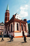 Church in Frankfurt Royalty Free Stock Image
