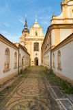 Church of Franziscan Monastery, Plzen, Czech Republic Royalty Free Stock Photos