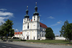 Church Frauenkirchen Royalty Free Stock Photos