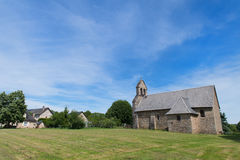 Church in French village Royalty Free Stock Photo