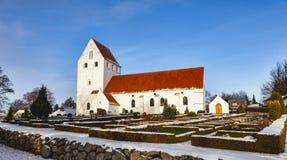 Church in Froerup, Funen, Denmark Stock Images