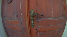 Church front door stock photography