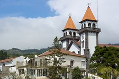 Church in Furnas of Sao Miguel Stock Photography