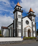 Church in Furnas of Sao Miguel Royalty Free Stock Images