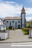 Church in Furnas of Sao Miguel. Church in Furnas town, Sao Miguel, Azores Royalty Free Stock Image