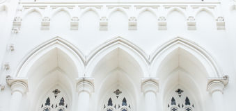 Church Gable Royalty Free Stock Images