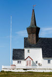 Church of Gamvik Royalty Free Stock Images