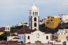 Church in Garachico Royalty Free Stock Photos
