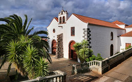 Church at Garafia (La Palma, Canary Islands) Stock Photo