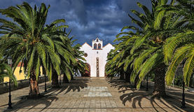 Church at Garafia (La Palma, Canary Islands) 03 Stock Images