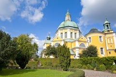 Church with garden Royalty Free Stock Photo
