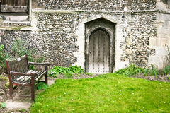 Church garden Royalty Free Stock Photos