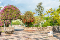 Church garden Royalty Free Stock Images