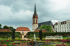 Catholic church St. Elisabeth in Germany Royalty Free Stock Photos