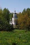 Church in gardens Stock Image