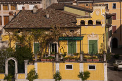 Church in Gargagno an interesting town on Lake Garda Italy Royalty Free Stock Photography
