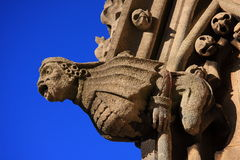 Church Gargoyle Close Up Royalty Free Stock Photos
