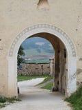 Church Gate, Castle Hochosterwitz. Austria Royalty Free Stock Photo