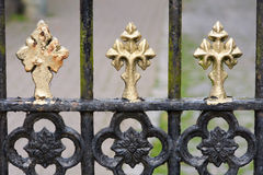 Church gate detailing Royalty Free Stock Photos