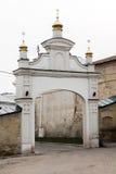 Church Gate. The entrance to the church. Login monastery. Kiyv. Church Gate. The entrance to the church. Login monastery Stock Photos